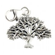 Tree Sterling Silver Charm